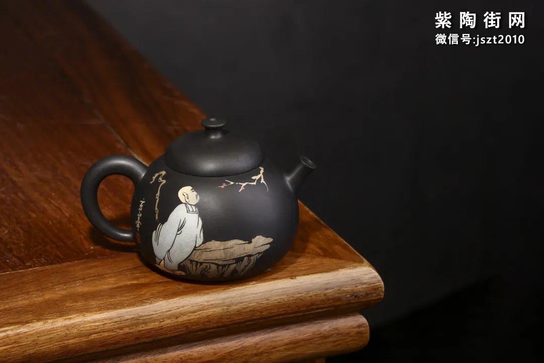 朱玄峰建水紫陶壶欣赏插图13