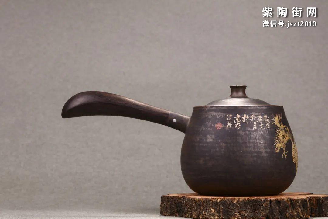 舒泛舟紫陶壶作品欣赏插图12