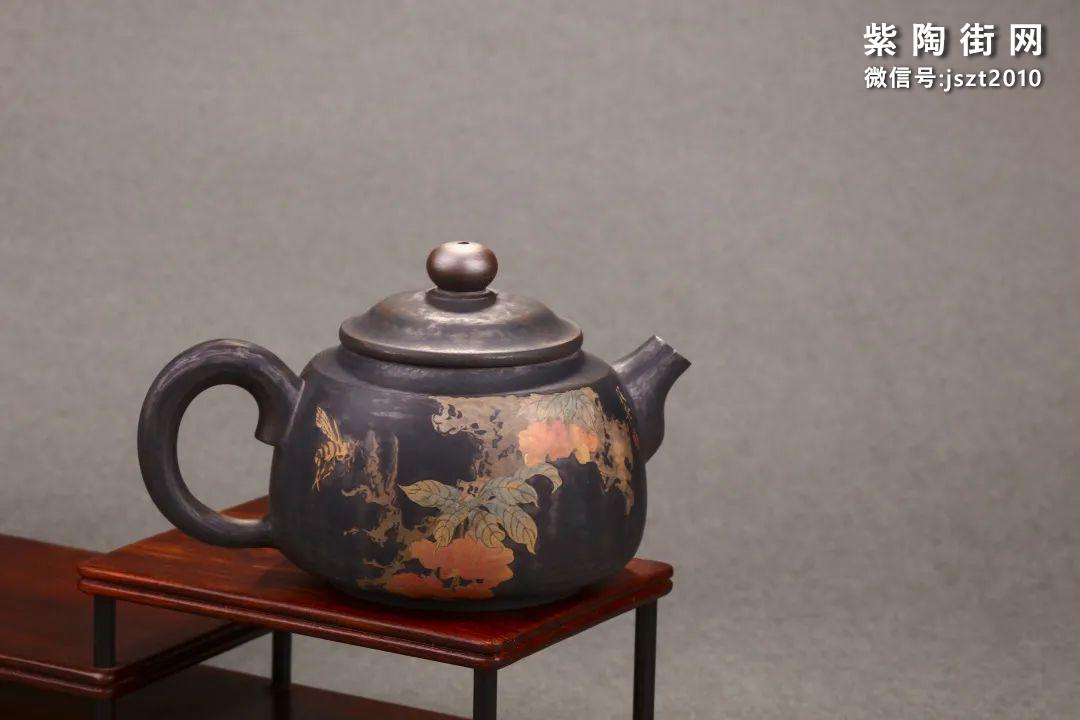 舒泛舟紫陶壶作品欣赏插图19