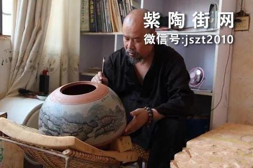 建水当代省级紫陶大师向炳成-紫陶街