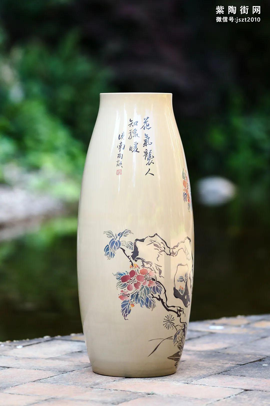 建水紫陶花瓶雅赏插图17