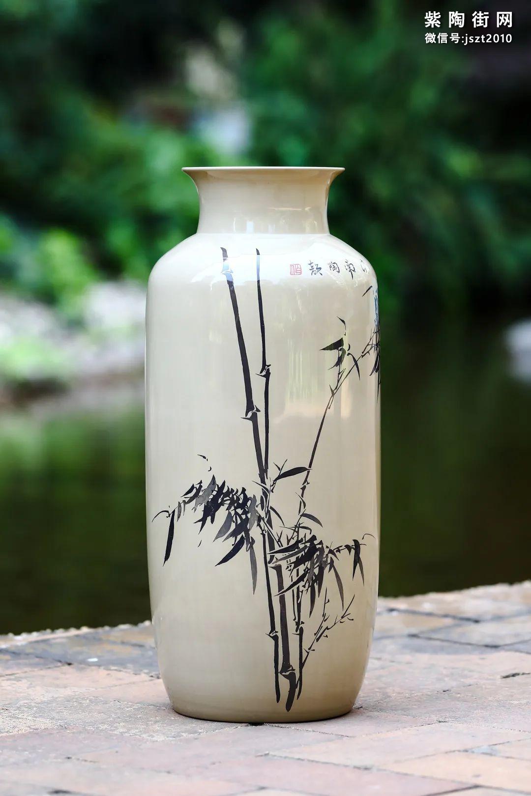 建水紫陶花瓶雅赏插图21
