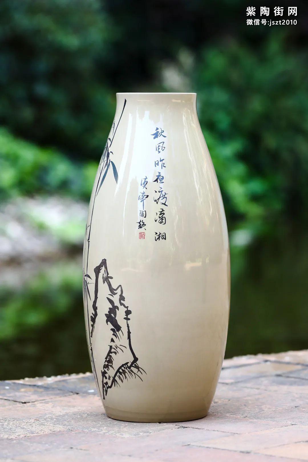建水紫陶花瓶雅赏插图19