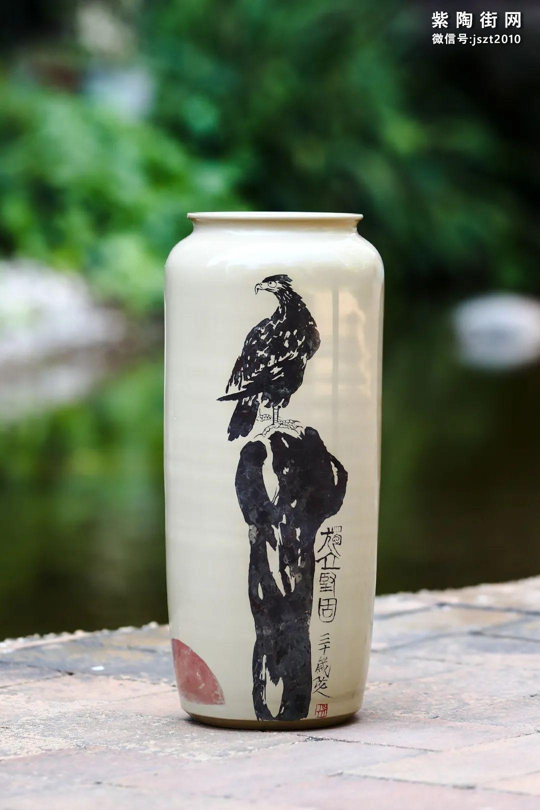 建水紫陶花瓶雅赏插图24