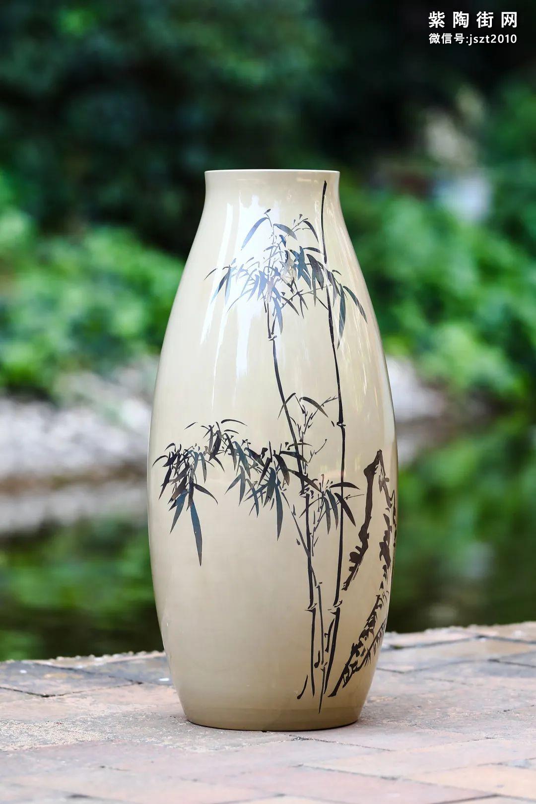 建水紫陶花瓶雅赏插图18